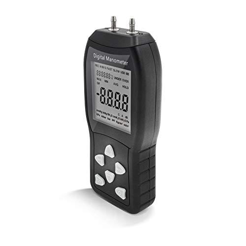 PerfectPrime AR1890 Professional Digital Air Pressure Meter & Manometer