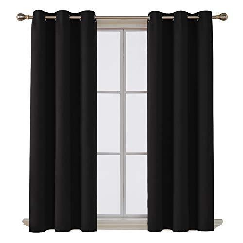 Deconovo Room Darkening Blackout Window Curtain