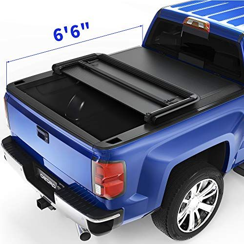 oEdRo Upgraded Truck Bed Tonneau Cover