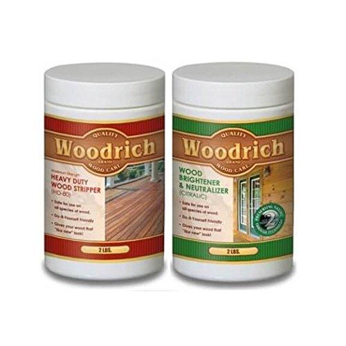 Woodrich HD80 Heavy-Duty Wood Stripper