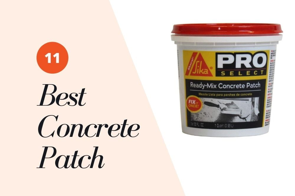 Best Concrete Patch