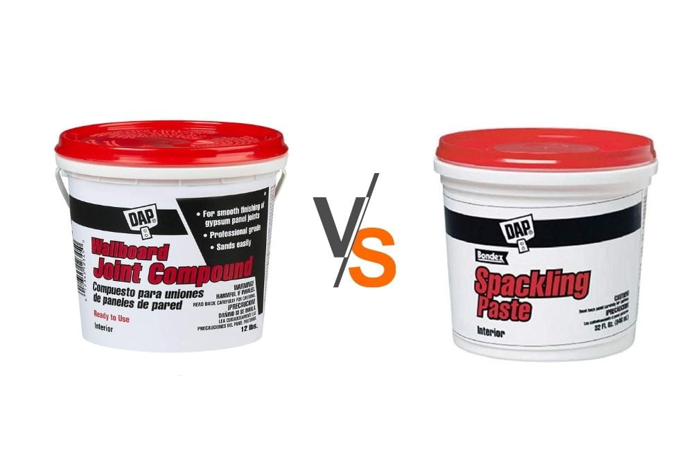Joint Compound vs. Spackle