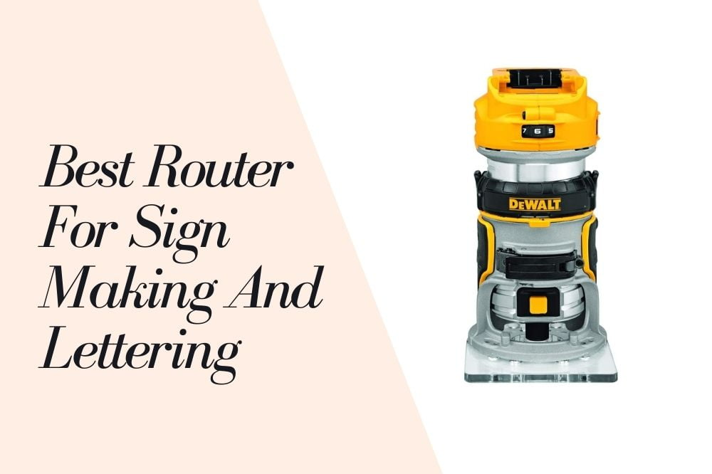 Router For Sign Making